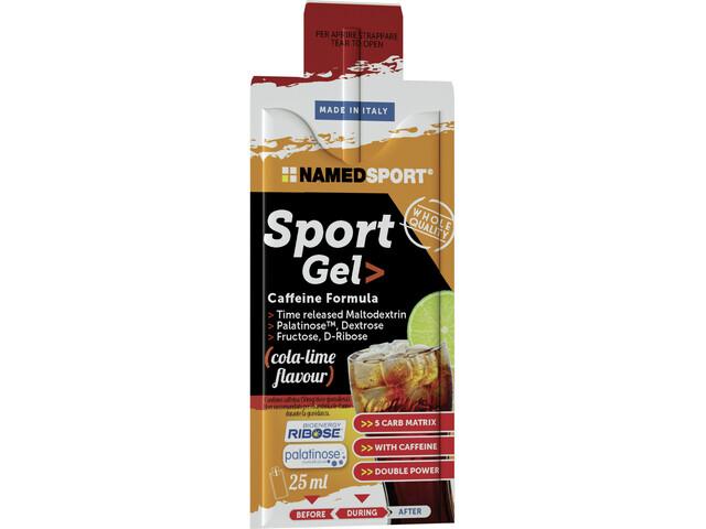 NAMEDSPORT Sport Energy Caja de Geles 15 x 25ml, Cola Lime